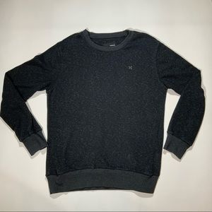 Hurley Charcoal Lightweight Sweater Size L